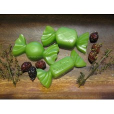 Primitive Hand-made Christmas Candy Tarts/Embeds - Apple Scent