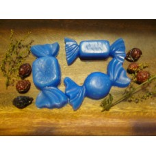 Primitive Hand-made Christmas Candy Tarts/Embeds - Blueberry Scent