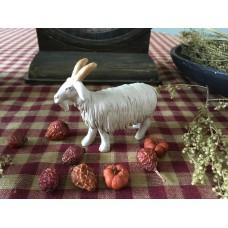 Primitive  Resin Billy Goat Shelf Sitter - Blossom Bucket