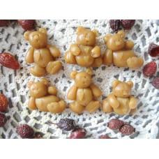 Primitive Hand-made Bear Tarts/Embeds - Banana Cream Pie Scent