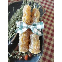 Primitive* Hand-poured* Grubby* Candle Tapers* - Snickerdoodle Scent