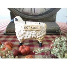 Primitive Got Wool? Sheep - Blossom Bucket